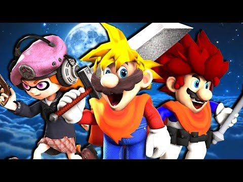 SMG4: Final Fantasy Mario