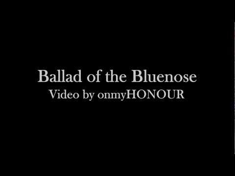 Ballad Of The Bluenose - lyrics