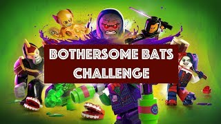 Lego DC Super Villains - Bothersome Bats Challenge - Bats Locations