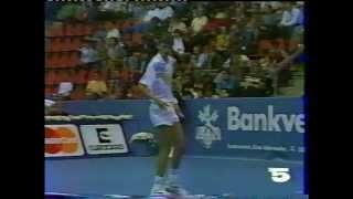 Goran Ivanisevic vs McEnroe - Final Basel 1990 - Part 01