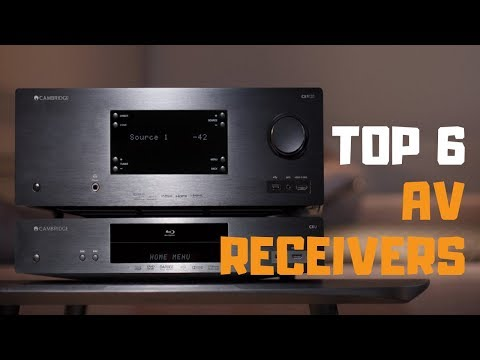 Best AV Receiver In 2019 - Top 6 AV Receivers Review