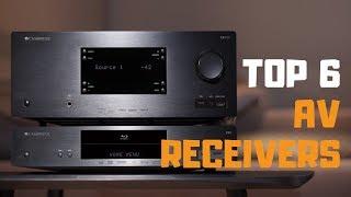 Best AV Receiver in 2019 - Top 6 AV Receivers Review