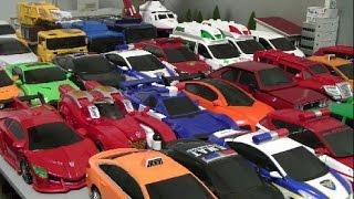 헬로카봇 35대 자동차 장난감 변신 Hello Carbot 35 Car Robot Toys Transformation