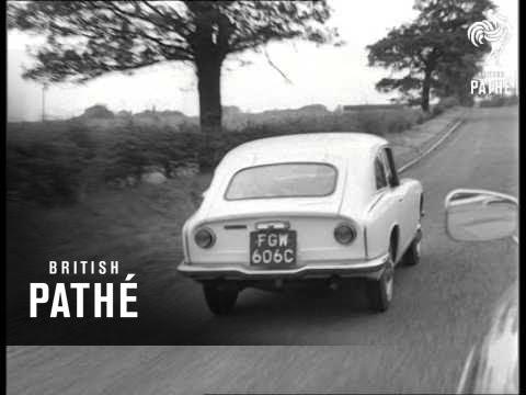 New Japanese Sports Car Demonstration 1965 Youtube