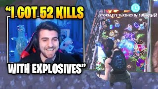 SypherPK Gets 52 KILLS At Secret Spot In Salty Springs | Fortnite Daily Funny Moments Ep.320