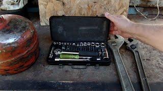 Проверка газового крана установленного на баллон своими руками в дачной мастерской