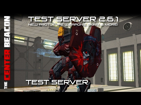 War Robots | Test Server 2.6.1 - New Prototype Weapons, Skins, & More!