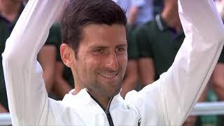 Wimbledon 2019   Bilo je 8:7 i 40:15, Ali na Drugoj Strani Mreže bio je Nole...   SPORT KLUB Tenis