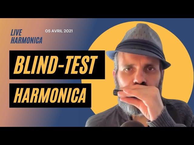 Blind-Test Harmonica 60-70-80 + Questions / Réponses - Le Live du Lundi Soir