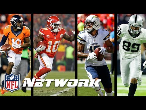 Expectations for AFC West Wide Receivers in the 2017 Season | Total Access | NFL Network