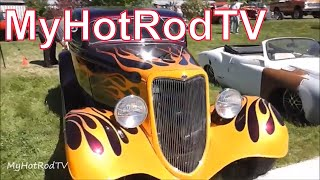 Rat Fink Reunion - Friday Evening at Big Daddy Ed Roth's Home