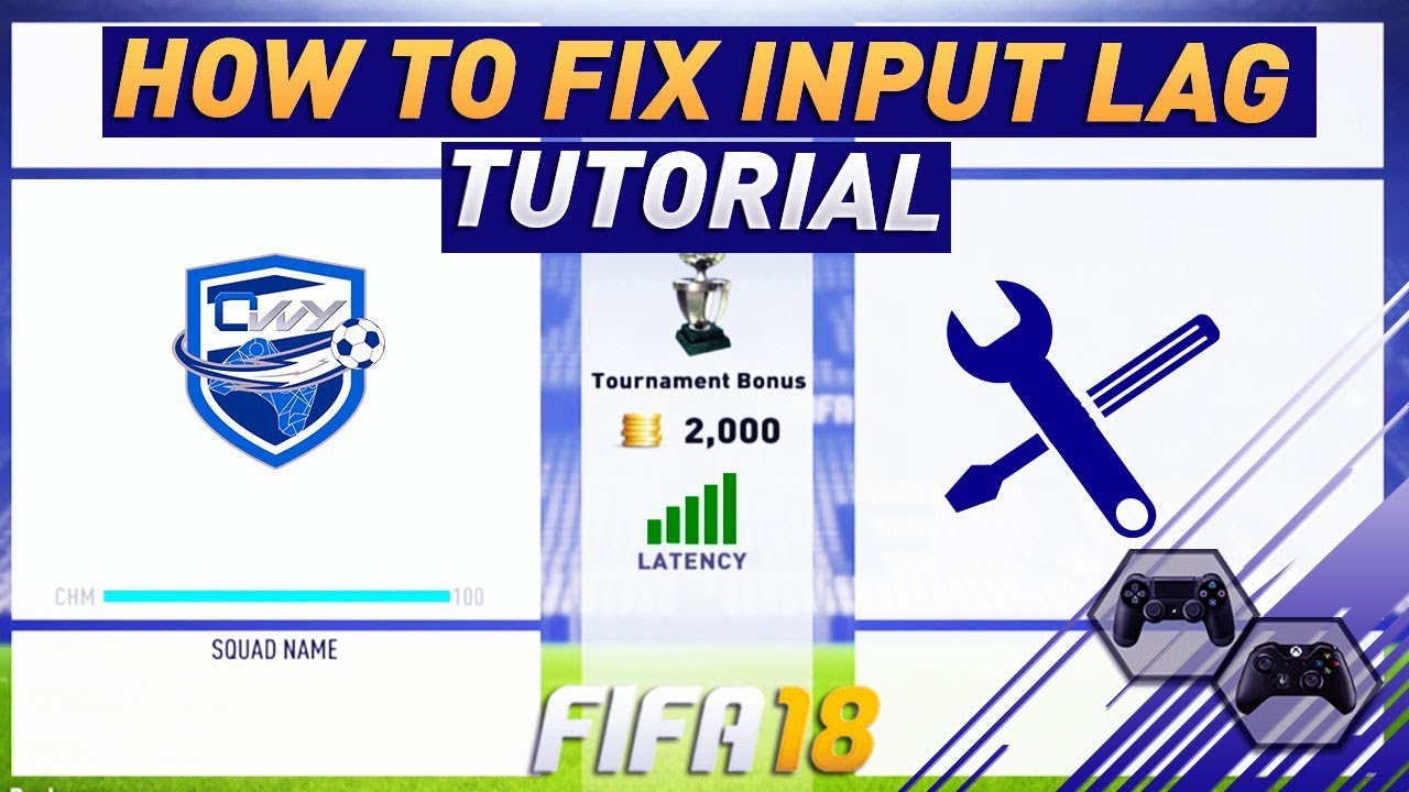 EASY TRICK TO FIX INPUT LAG - DELAY IN FIFA 18 - SECRET GAME SETTING TO  IMPROVE ONLINE CONNECTION