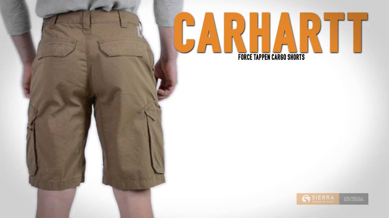 Carhartt Mens Mens Force Tappen Cargo Short Shorts