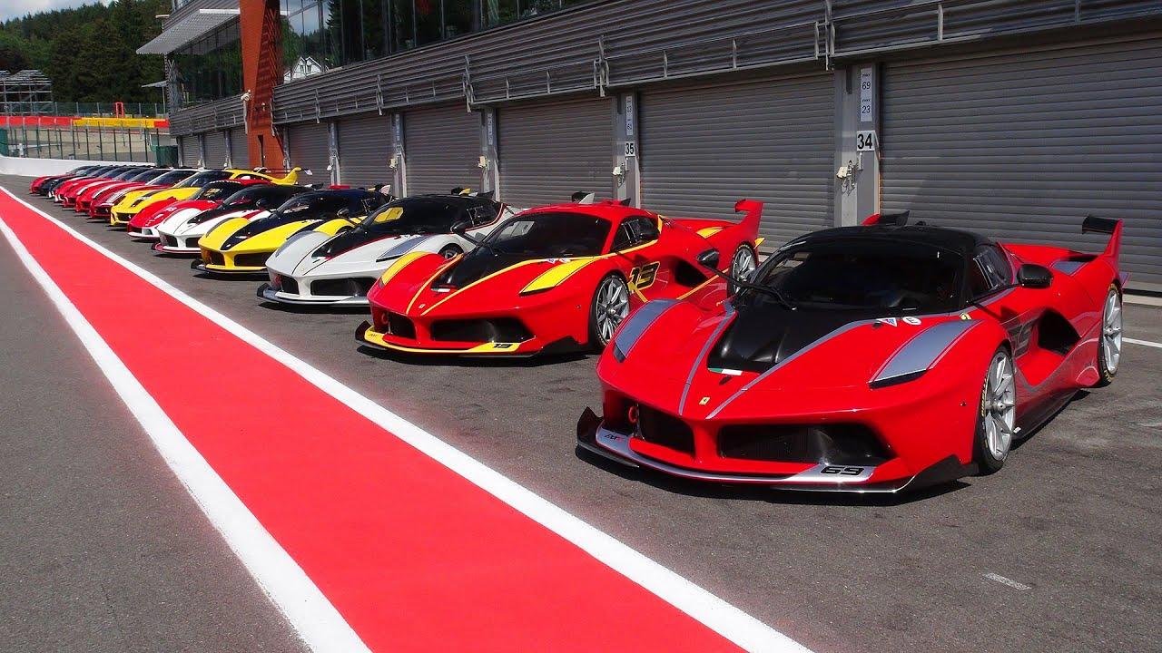 Ferrari Corse Clienti Spa Ferrari Fxx K Fxx 599xx Evo