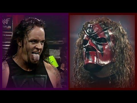 Kane Saves The Rock, X-Pac U0026 Road Dogg From The Undertaker U0026 Big Show! 8/9/99