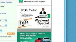 Enterprise Rent-A-Car Weekend Special $10 per Day Rental