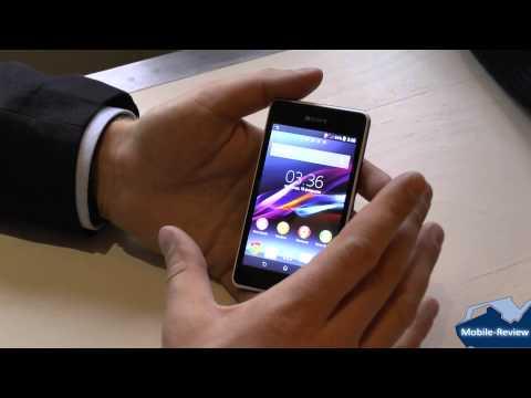Знакомство с Sony Xperia E1