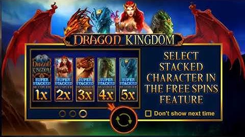 Dragon Kingdom - Full slots and Feature game