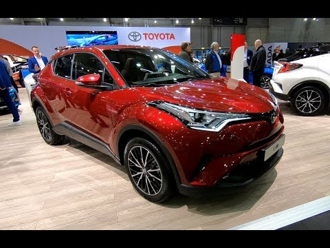 TOYOTA C-HR 1.2T AWD CITY CROSSOVER SUV COUPE NEW MODEL RED COLOUR WALKAROUND + INTERIOR