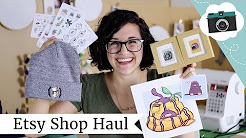Etsy Shops I Love! Etsy Haul Video | @laurenfairwx