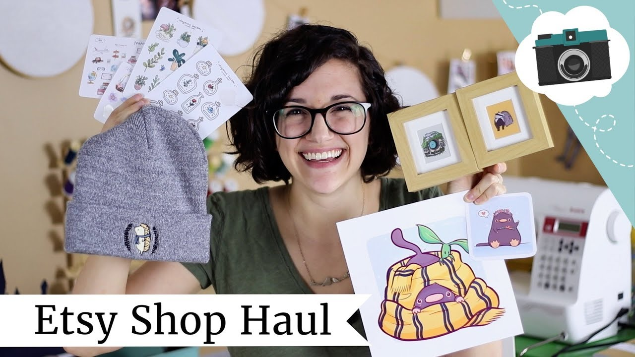 Etsy Shops I Love! Etsy Haul Video