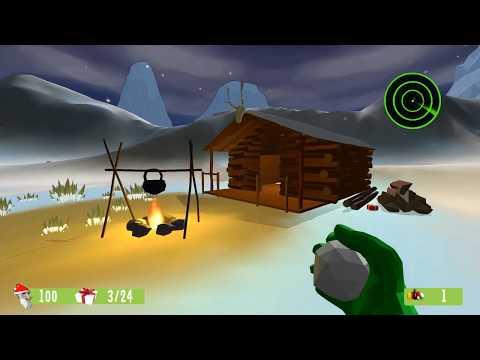 Santa and the Evil Snowmen | GAMEGURU GAME by Slaur3n - attempt #2 |