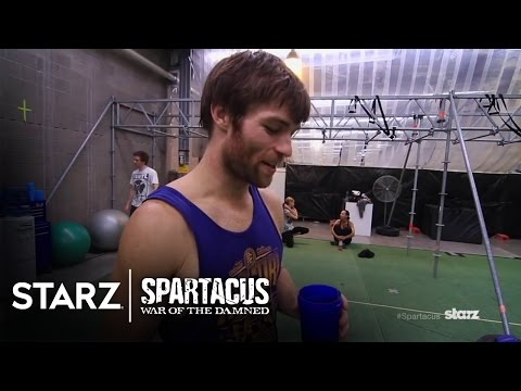 Spartacus  War of the Damned  Gladiator Boot Camp  STARZ