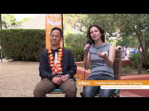 Delphine Mallet et Marc vu Quang - présidente et directeur général de La Poste Silver