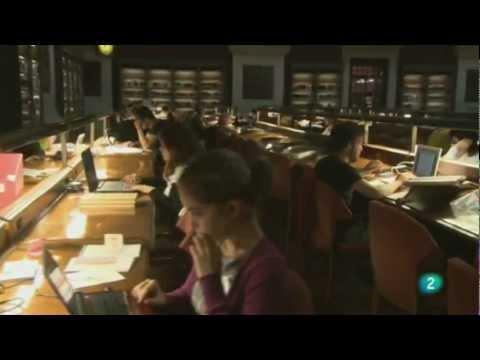 Biblioteca Nacional de España.  La memoria del mañana.wmv