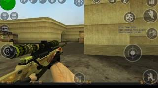 Обзор на мод для Cs 1.6 на андроид на оружие из CS:GO