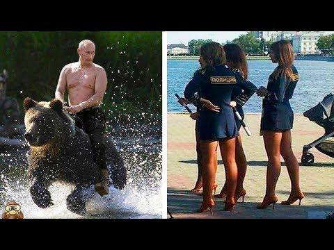10 COSAS MUY LOCAS QUE SOLO VERÁS EN RUSIA | Cosas que solo pasan en Rusia