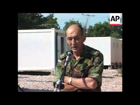 YUGOSLAVIA: KOSOVO: COMMANDER JACKSON PRESS BRIEFING