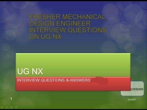 NX INTERVIEW QUESTIONS PART DESIGN-PART 1