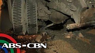 2 hurt in 3-vehicle smash-up on EDSA