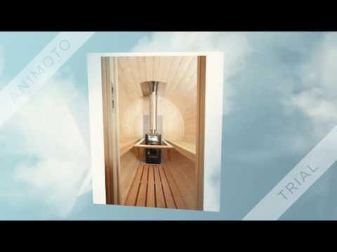 Wolff Finnhaus Saunafass Bausatz Empfehlung - YouTube