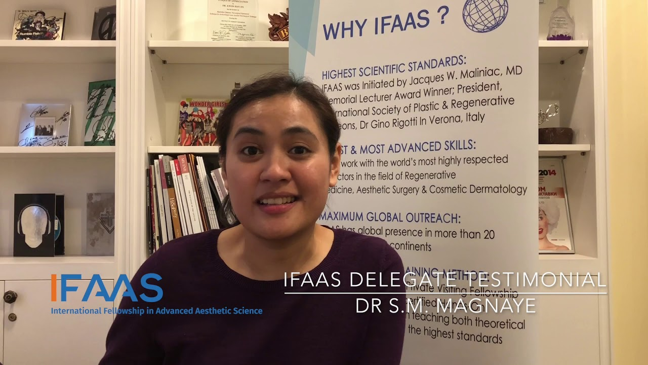 IFAAS Delegate Testimonial - Dr  S  M  Magnaye | Philippines