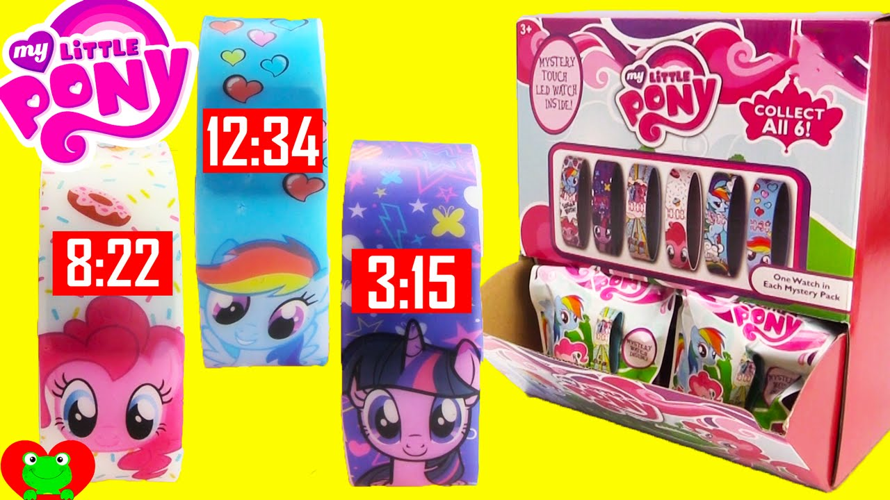 My little pony mystery watch blind bags youtube for Little pony watches
