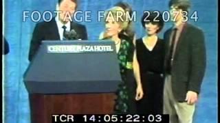 Reagan: Victory Celebration 220734-01 | Footage Farm