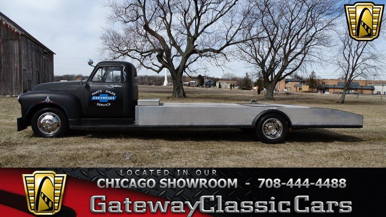 1951 Chevrolet Halfton Gateway Clic Cars Chicago #1359 - YouTube
