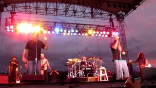 """Huey Lewis & the News with King Harvest """"Dancing in the Moonlight"""" @ Artpark, Lewiston, NY 7/3/12"""