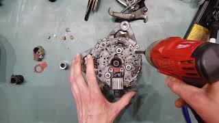 Make your own HIGH OUTPUT alternator! - Part 1: The Teardown!