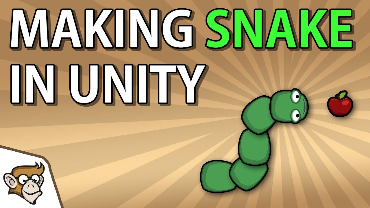 Simple 2D Game in Unity: Snake (Unity Tutorial for Beginners)