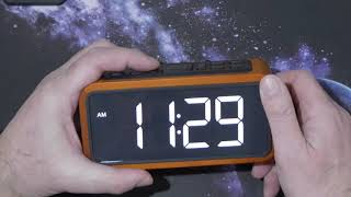 KOOSIN FM Radio Alarm Clock Review and a basic tutorial on how to use