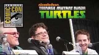 Comic Con 2015 Exclusive Teenage Mutant Ninja Turtles Mini Episode with Seth Green and Sean Astin