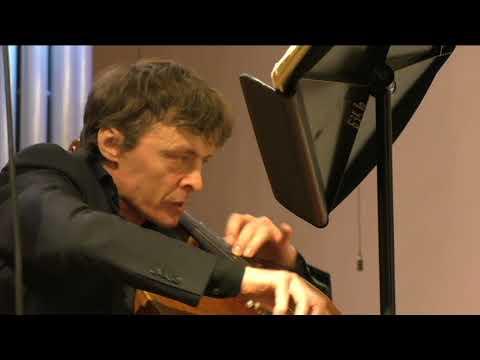 Schnittke Concerto Grosso no. 2 Sviatoslav Moroz (violin) Rustam Komachkov (cello)