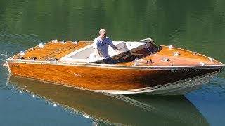 1988 Classico Custom Wooden Boat For Sale