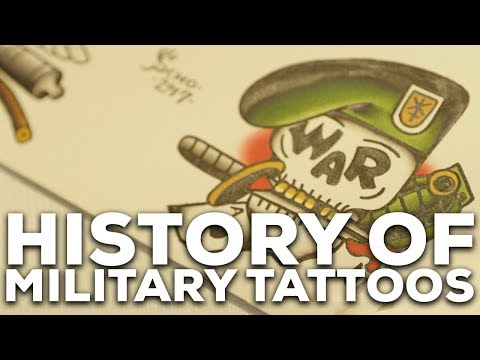 Colors Of Our Country: The History Of Military Tattoos