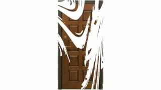 видео Металлические двери с зеркалом внутри