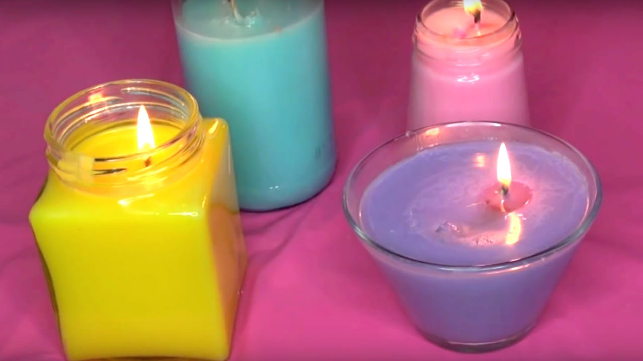 How To Make Colored Candles Mycoffeepot Org