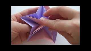 Как сделать Звезду из бумаги | Origami Star